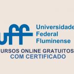 UFF Cursos Gratuitos Coronavirus Quarentena